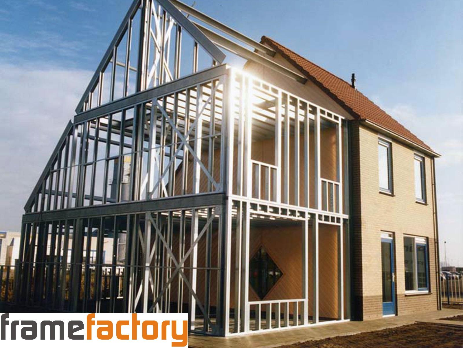 Frame Factory - Bouwen met staalframe | Geschiedenis